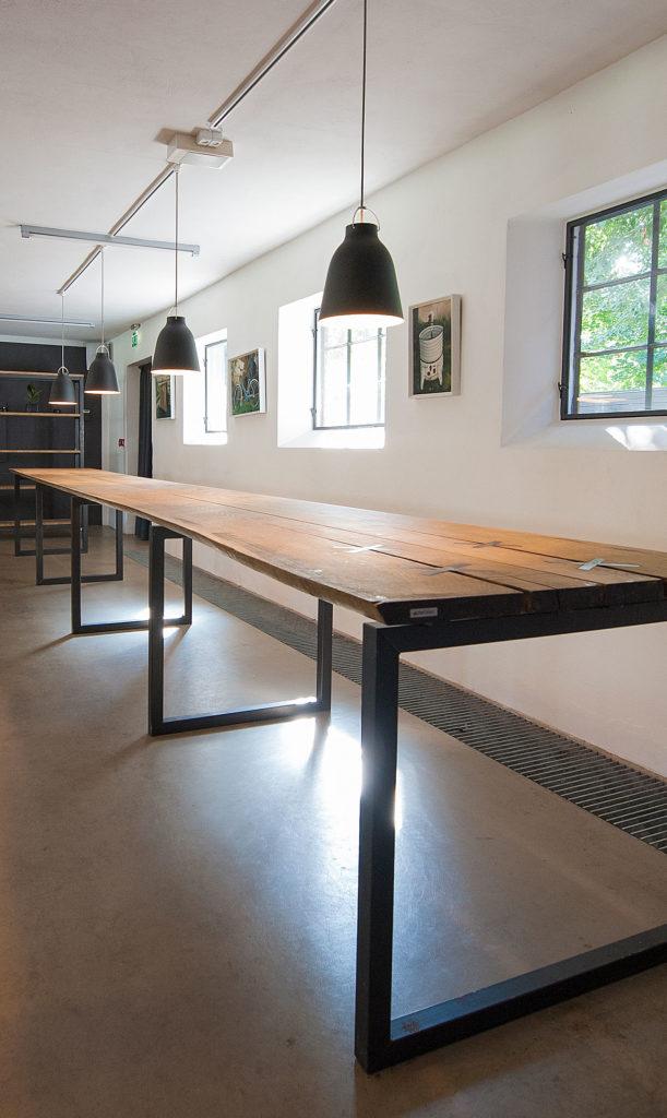 7 meter langt buffetbord